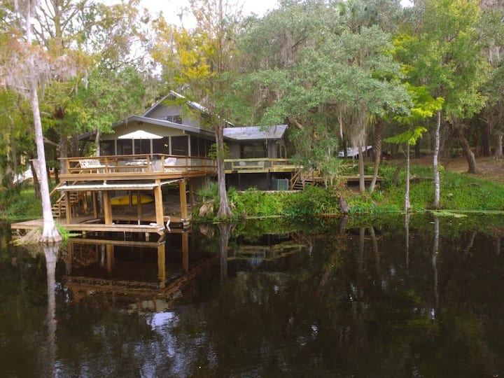 Withlachoochee River Home Hidden Among Nature