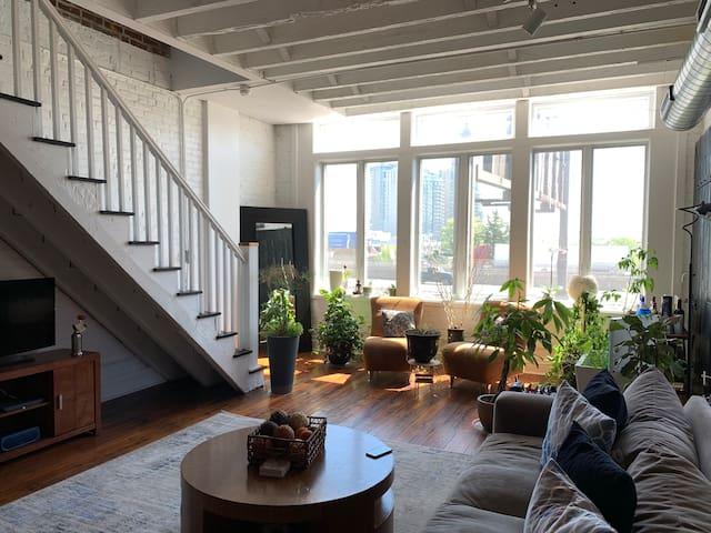 Luxury Penthouse Loft in Phialdelphia