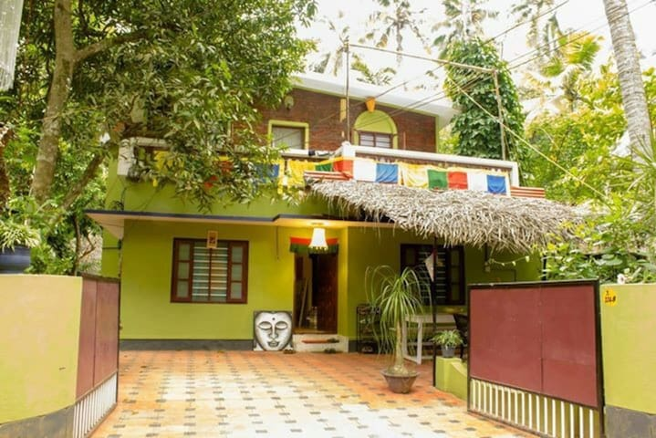 Single room - Secret Garden - Varkala - Casa