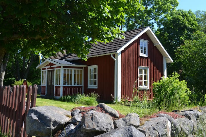 Smålandsstuga  in Valeryd - Växjö SV - บ้าน