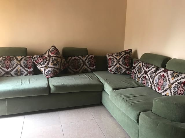Lounge on the couch in Kigali