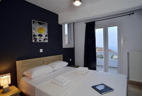 Aurora - modern house with sea view - Syros