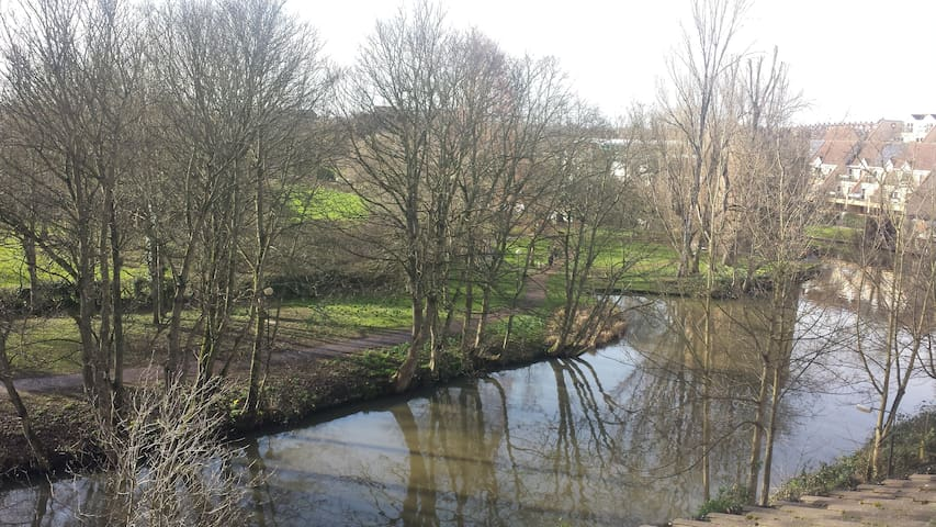 Stunning river views in city centre, with parking. - Norwich - Huoneisto