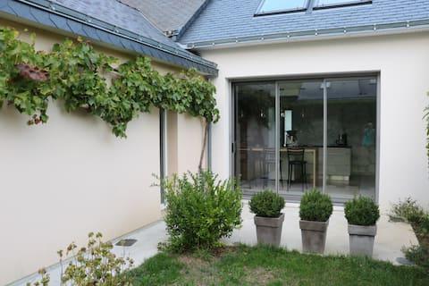 Anjou bleu portes d'Angers : 2 chambres privées