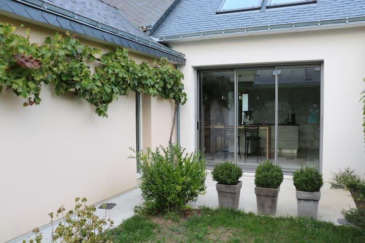 Anjou bleu portes d'Angers : chambre privée