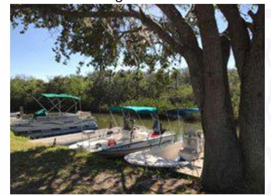 Private boat slip included with rental!