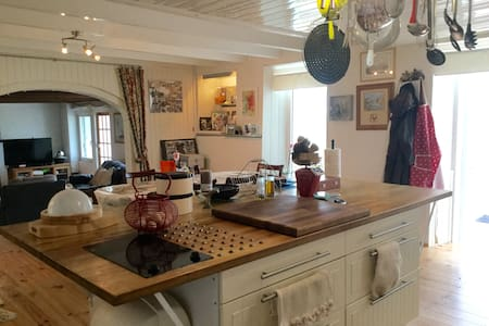 Biker Friendly B&B Vendee - Montournais - Casa