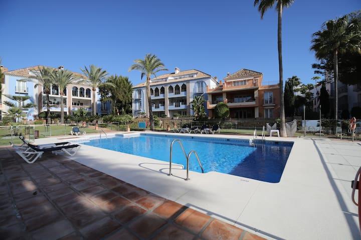 Luxury beach-side 3 bedroom apartment