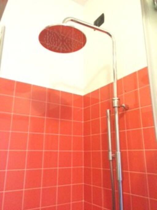 Soffione doccia relax
