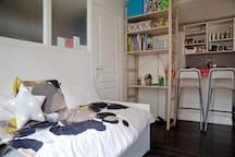 Appartement Paris 18ème 1 ou 2 personnes