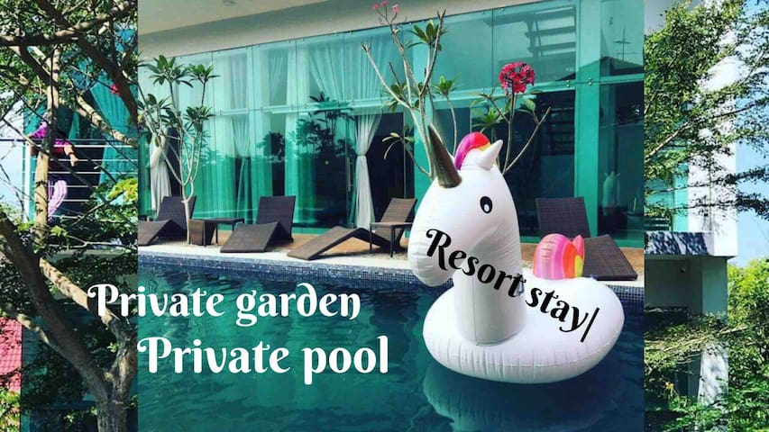 【Best】Resortvilla *Private facilities *Legoland