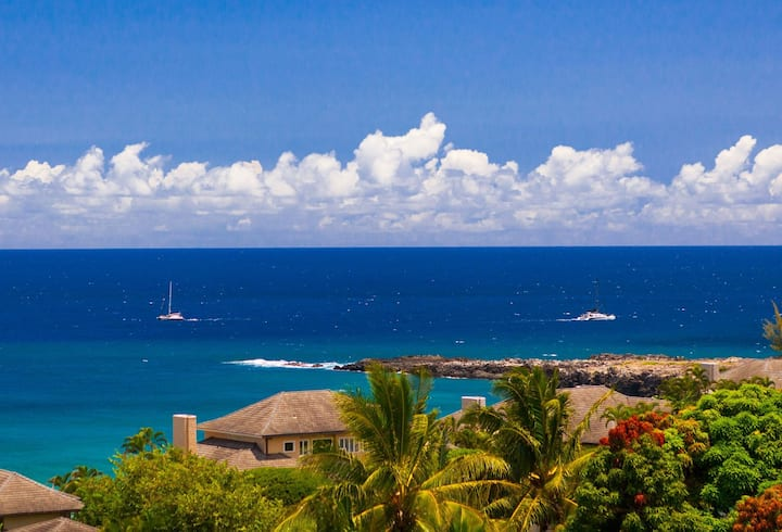 Villa 421. 5th Night FREE! Ideal location in Kapalua with exotic ocean, costal and island views!