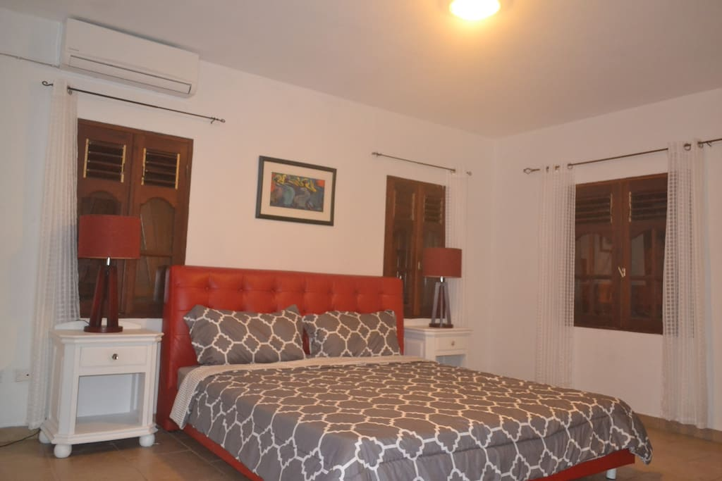 Master Bedroom, with King Size Bed