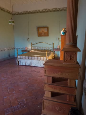Romantic suite in history palace - Montopoli - Bed & Breakfast