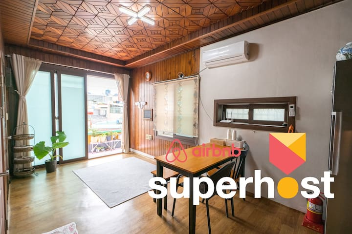 Traditional house, Center of Busan, Best reviews