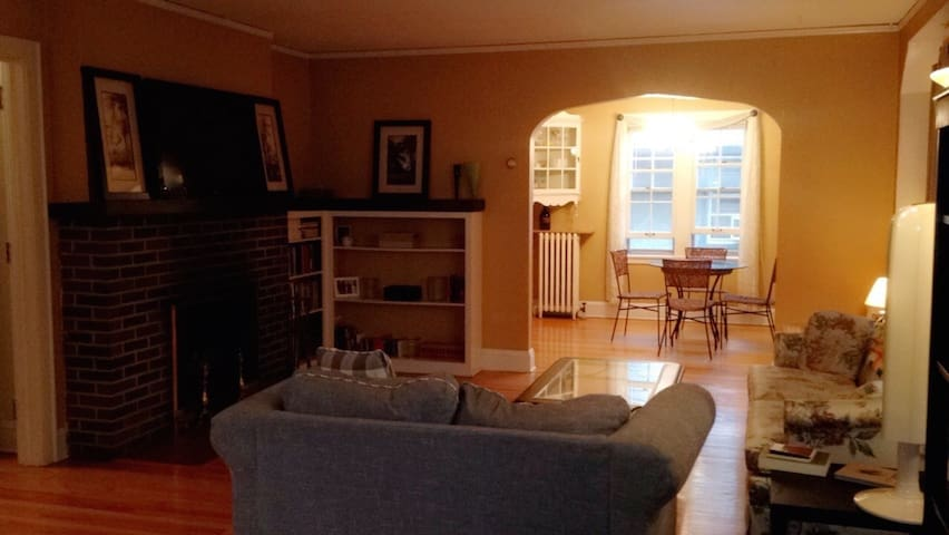 1BR in a cozy & spacious apt on the Mississippi - Minneapolis - Apartment
