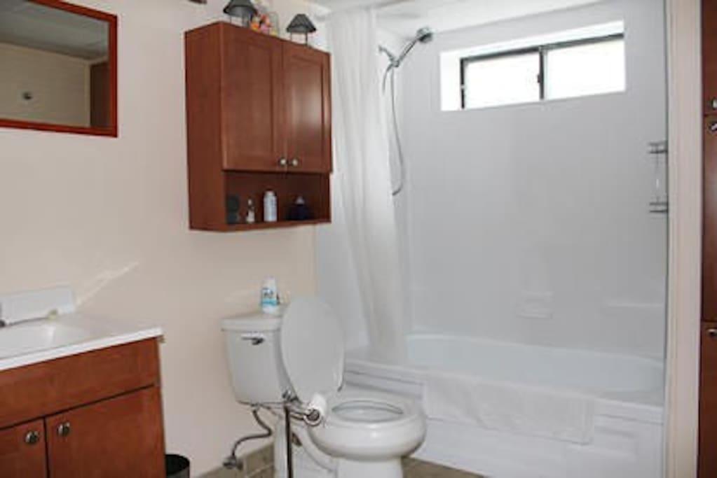 Fully remodelled bathroom