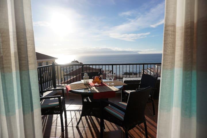 Seaview Terrace Apartment/Playa la Arena Beach
