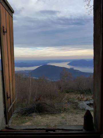 """Baita Vrei """"Paola"""" - Lago Maggiore view"""