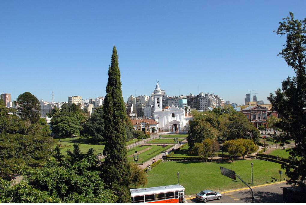Walking distance from Recoleta Cemetery