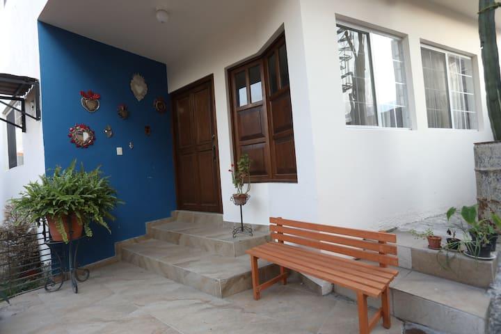 Casa Montserrat Coyoacán. Linda habitación doble