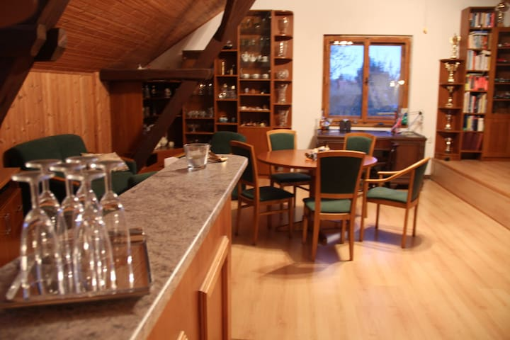 Beautiful loft apartment - Prague-East District - Casa