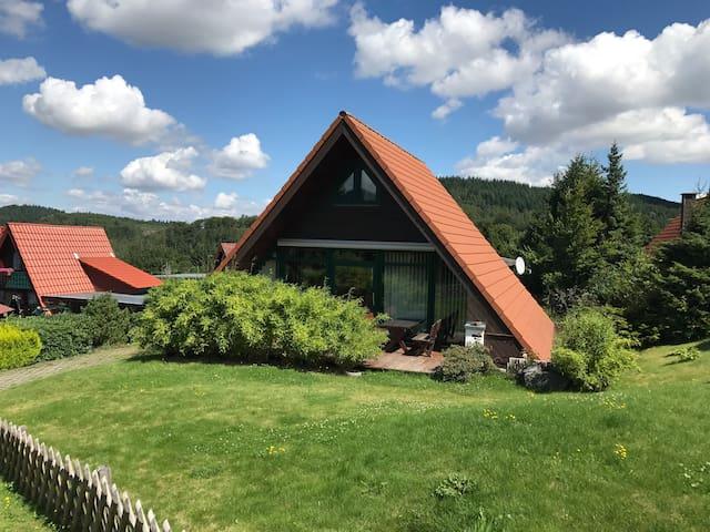 Haus Werner, komplettes Ferienhaus in Wolfshagen