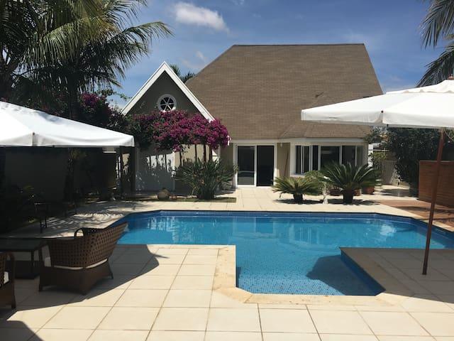Casa HIGH STILE, 3 suítes, piscina - Atibaia - Rumah
