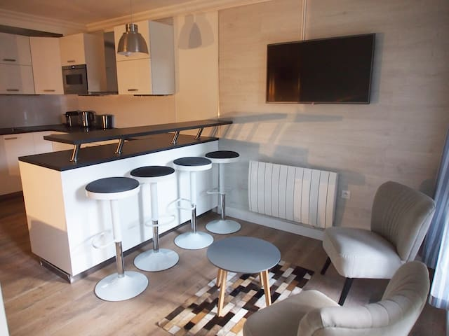 Appartement Standing 4 pers. + Parking - Arcs 1800 - Bourg-Saint-Maurice - Departamento