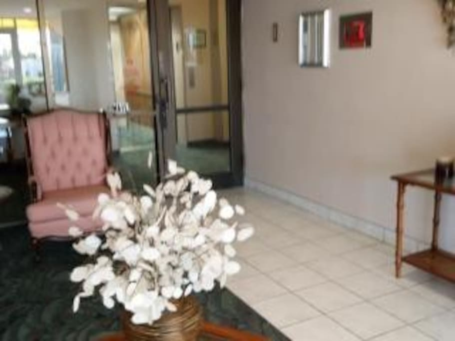 Entry Foyer of Building