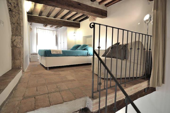 Pigi's stylish loft medieval village - Massa Marittima - Çatı Katı