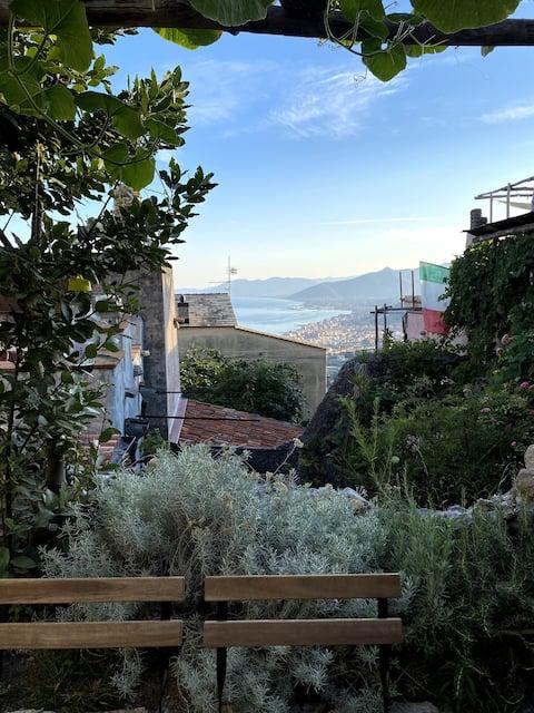 Il giardino sul mare
