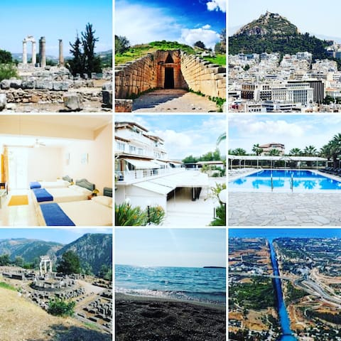 Attiki Anavyssos EVENT VILLA & TOURS  Sleep 20-60