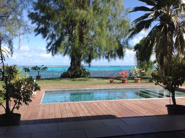 Villa Pongo's Beach - Pā'ea - Dom