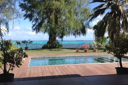 Villa Pongo's Beach - Pā'ea - Haus