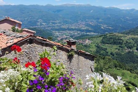 Il Borghetto - meravigliosa vista sulla Garfagnana