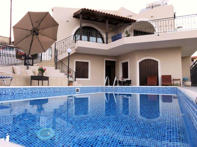 Elia Villas - Drias Family Nobby House & pool - Elea