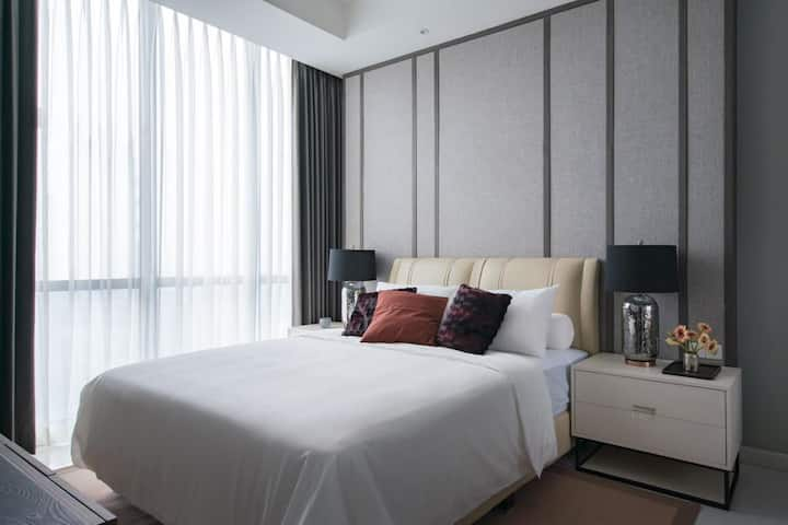 2BR Brand NEW Junior Penthouse at Mayjen sungkono