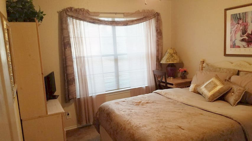 1 bdrm w/Private Bath near airport in San Antonio