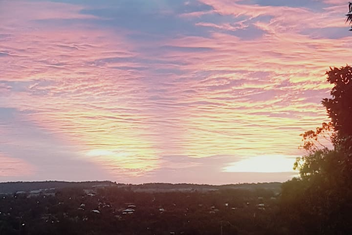Magical Sunsets from The Lookout Logde