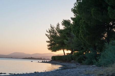 Amazing house in Eretria by the sea