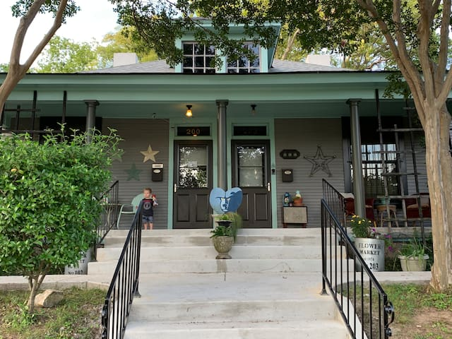 Our 1906 Humble Abode In The Bluff City