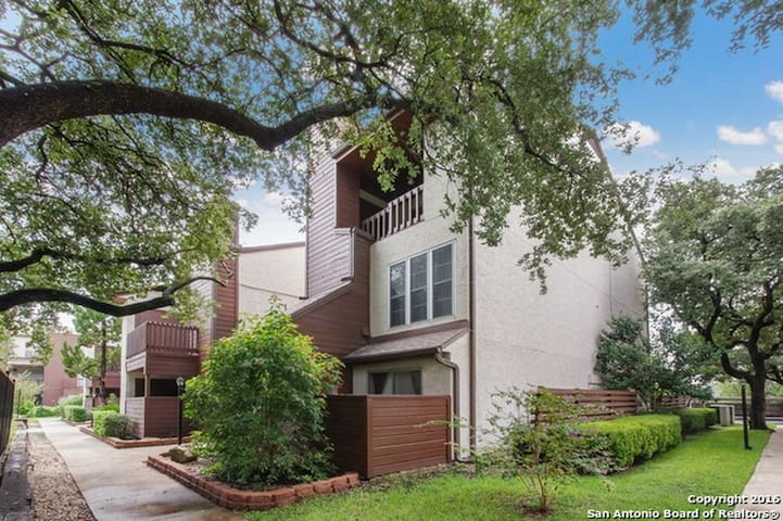 1BD, 1BA, Fully Furnished Condo!!! Private Garage - San Antonio - Apartment