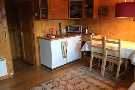 Rustic small and cheap apartment - Verbier
