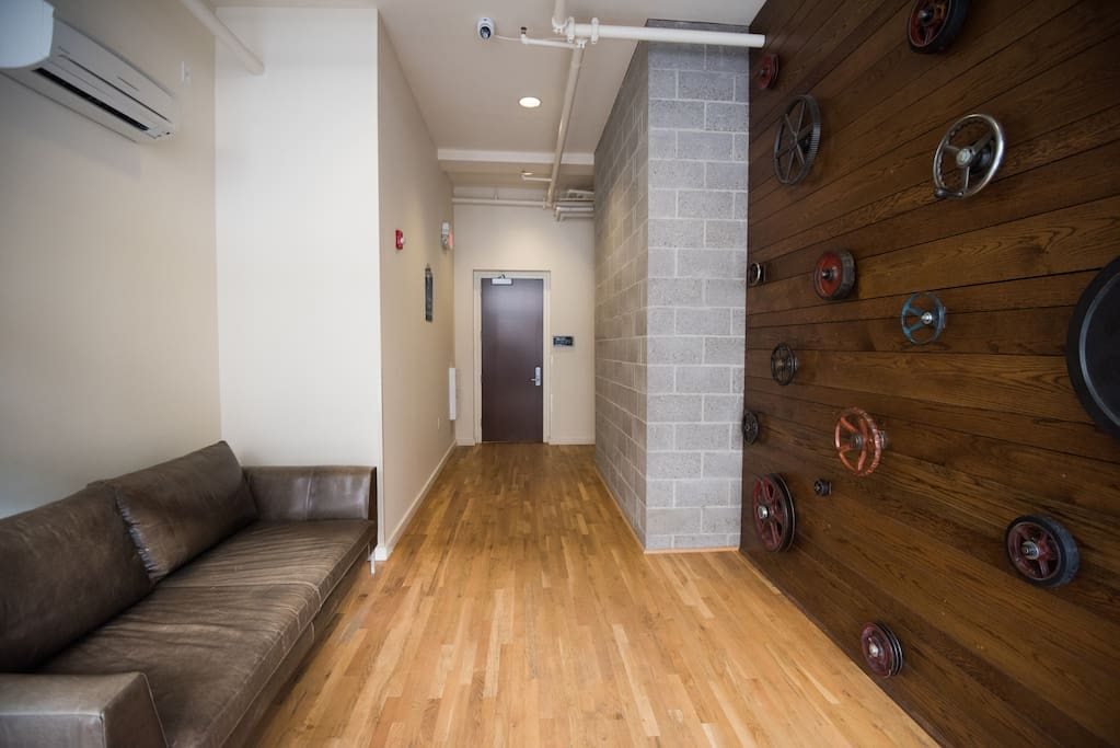 Entrance of Rankin Lofts