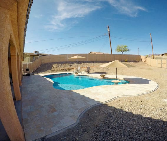 McCulloch Home With Newer Large Pool.