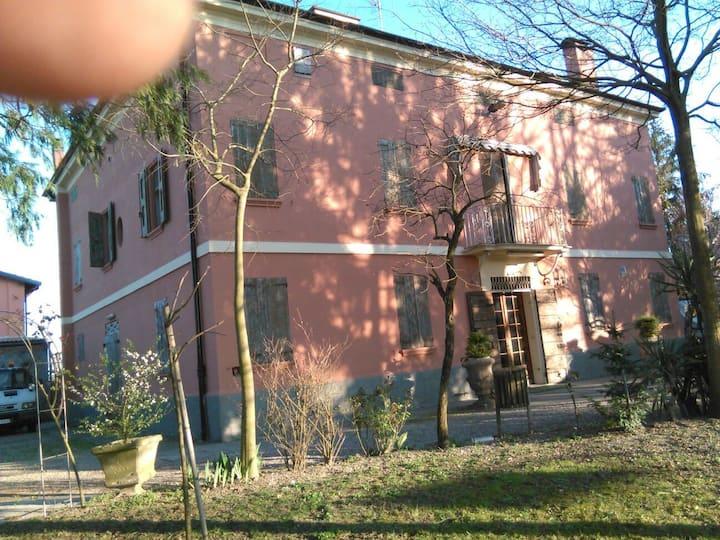 Camera in villa antica