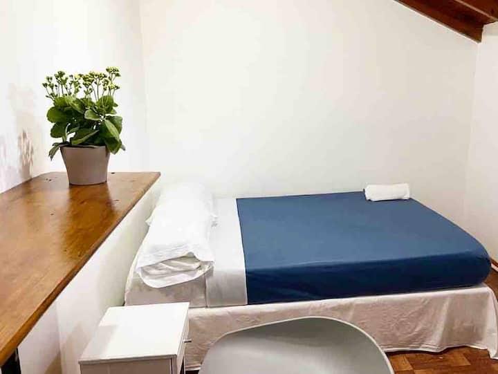Habitación individual o doble en Palermo