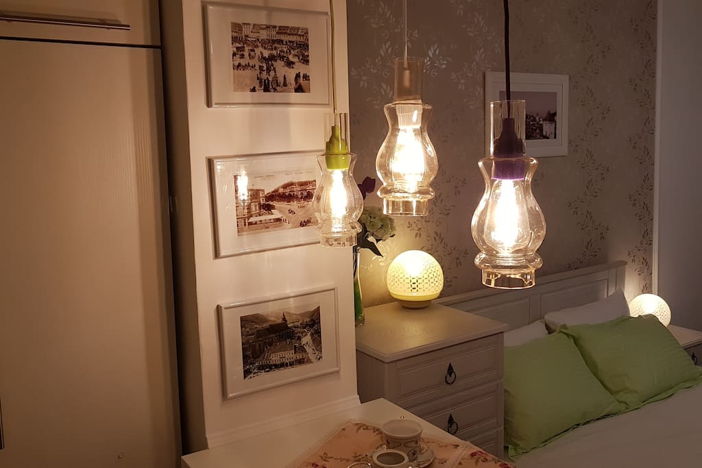 Bar & bedroom