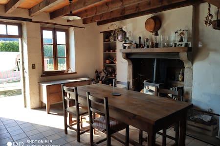 Maison  longère en pleine nature, havre de paix
